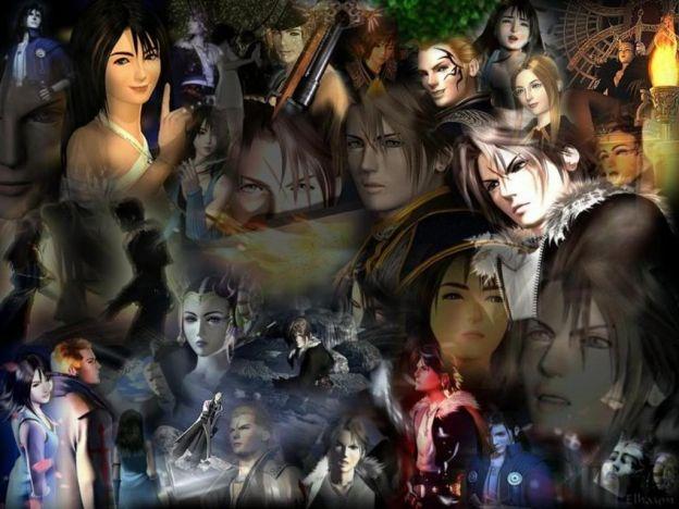 Collage di Final Fantasy VIII