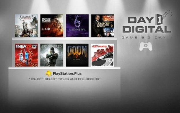 PSN Day 1 Digital sconti da Sony per PlayStation Network
