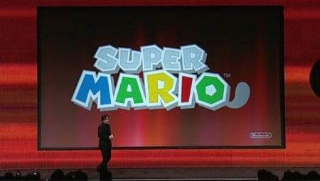 Satoru Iwata e super mario 3ds