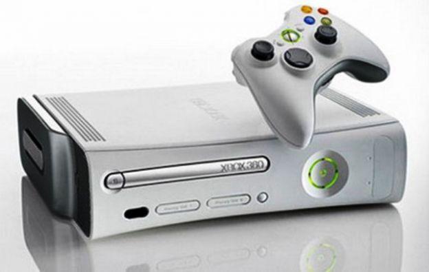 Un modello di Xbox 360