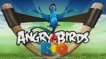 angry birds gioco rio