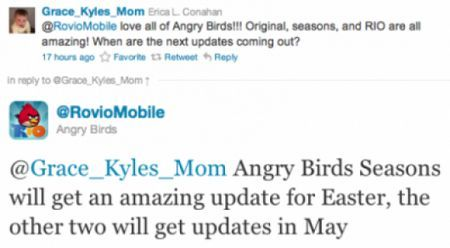 angry birds nuovi update pasqua