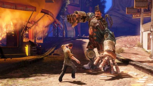 bioshock infinte gameplay trama
