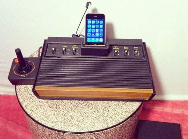 console atari 2600 speaker dock