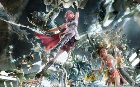 final fantasy xiii 3 square enix rpg