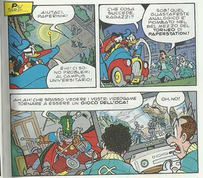 final fantasy xiii fumetto topolino