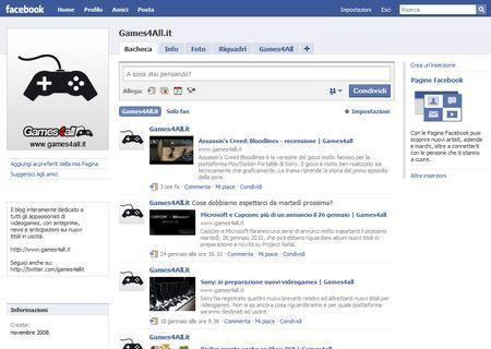 Games4All Facebook