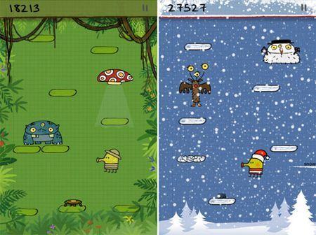 giochi iphone update doodle jump