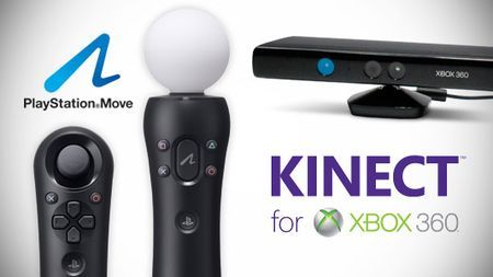 kinect move console