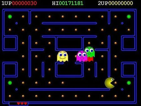 pacman giochi arcade marshfield