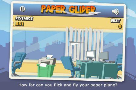 paper glider gioco app store download