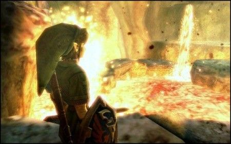 the legend of zelda link screenshot immagini