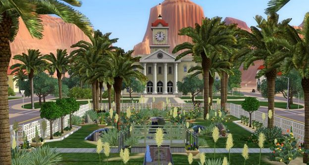 the sims 3 lucky palms espansione