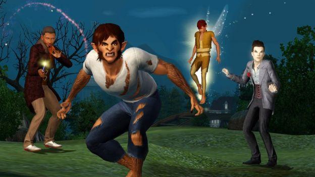 the sims 3 supernatural dettagli espansione