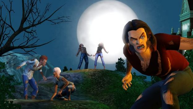 the sims 3 supernatural licantropi