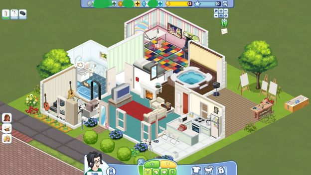 the sims social facebook carriere