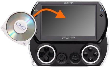 PSP Go dischi UMD