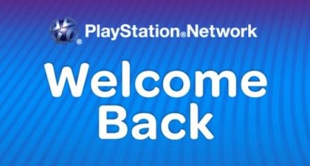 welcome back playstation network sicurezza