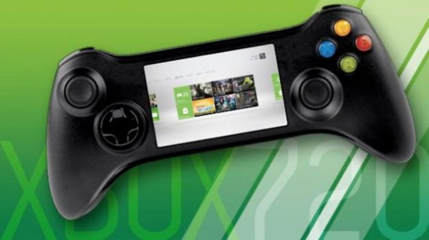 xbox 720 controller touch