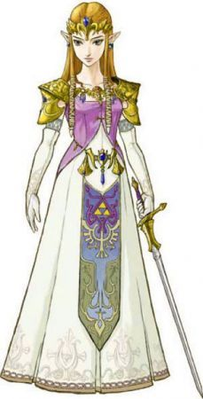 Chi è la figura femminile della Skyward Sword?