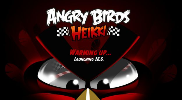Angry Birds Heikki, nuovo gioco di Rovio dedicato alla Formula 1