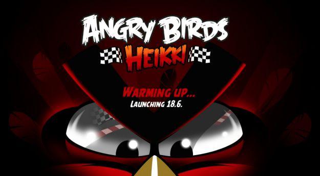 Angry Birds Heikki, nuovo gioco di Rovio dedicato alla Formula 1