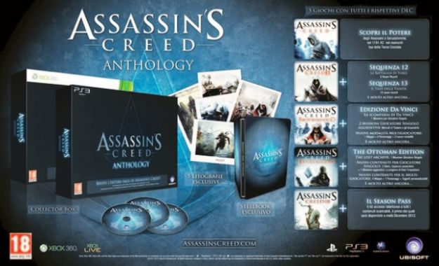 Assassins Creed Anthology in foto