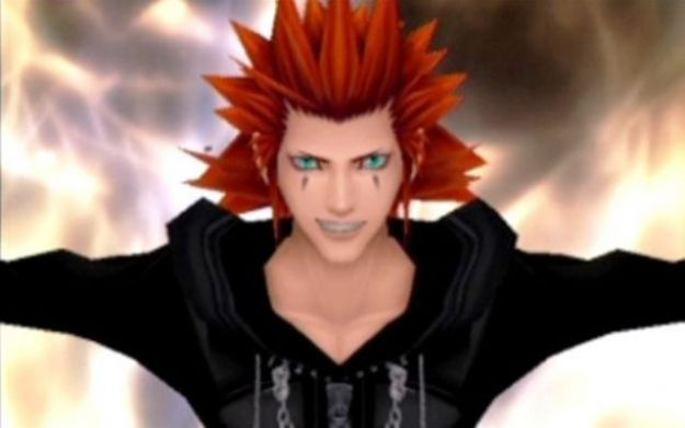 Axel in Kingdom Hearts