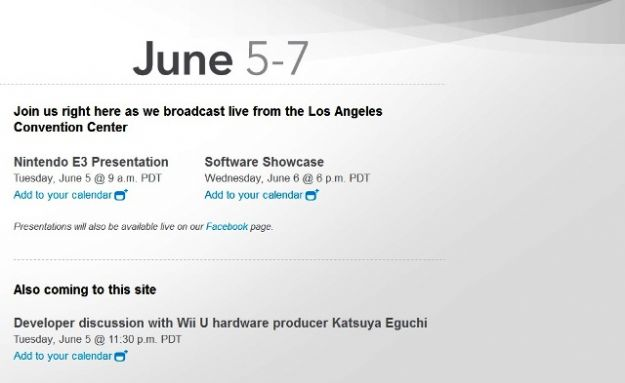 Come seguire Nintendo Wii U all'E3 2012