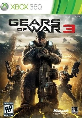 Gears of War 3 xbox 360 epic games