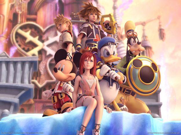 I protagonisti di Kingdom Hearts 2