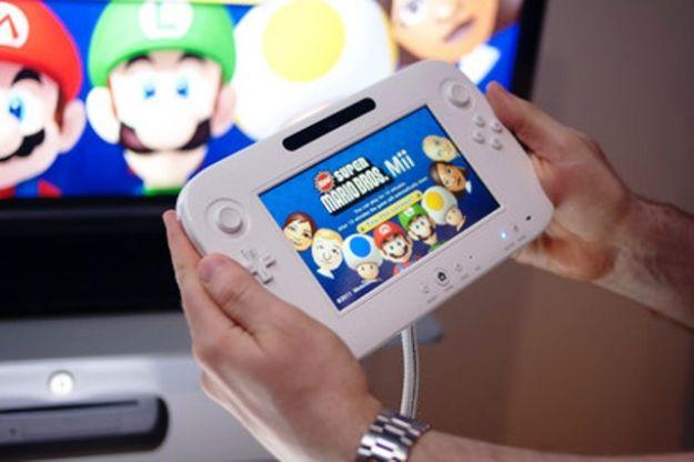 Il game pad di Nintendo Wii U