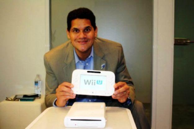 Il tablet di Nintendo Wii U mostrato da Reggie Fils Aim