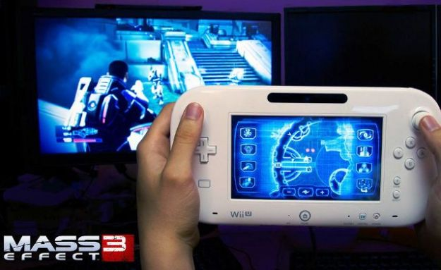 Mass Effect 3 giocato con Nintendo Wii U Game Pad