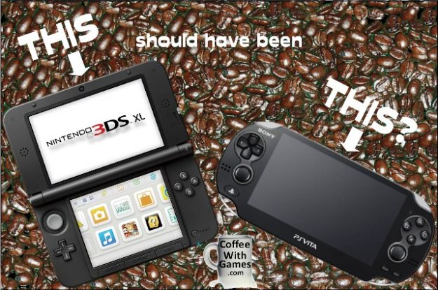Nintendo 3DS XL e PlayStation Vita
