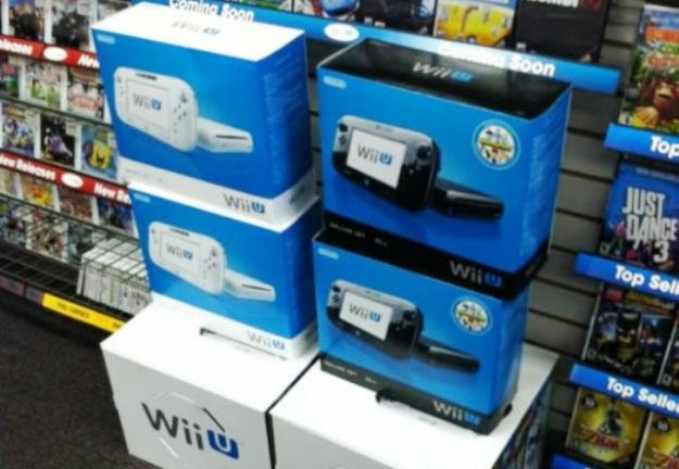 Nintendo Wii U in un Game Stop