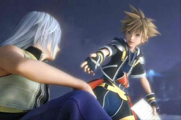 Sora e Riku di Kingdom Hearts