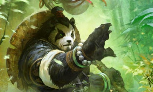 Un pandaren di World of Warcraft Mists of Pandaria