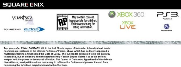 Valiant Saga è un nuovo gioco di Square Enix