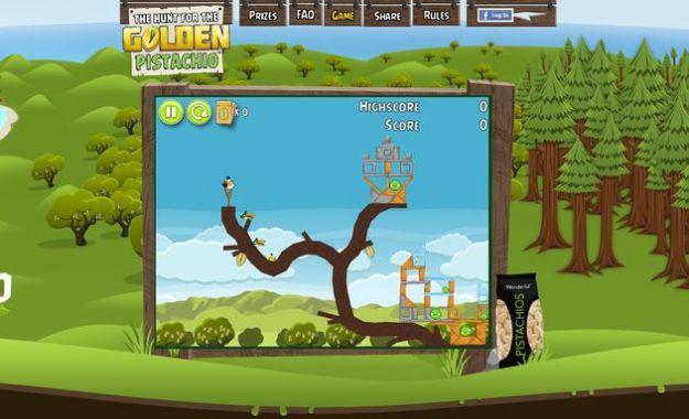 Angry Birds ritorna su Chrome con The hunt for the Golden Pistachio