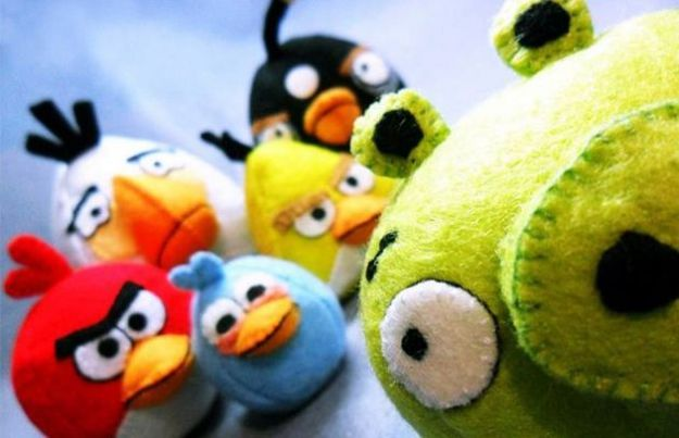 angry birds maialini verdi