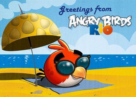 Angry Birds: in arrivo un nuovo update per Rio