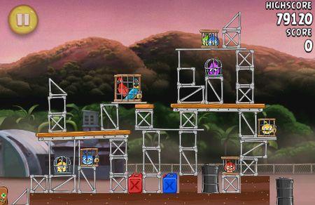 Angry Birds Rio si aggiorna con il nuovo Airfield