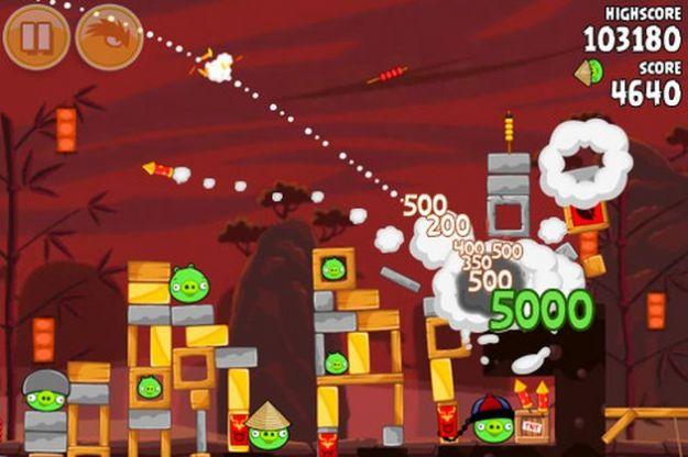 Angry Birds Seasons: disponibile il nuovo aggiornamento per l'anno cinese del Drago