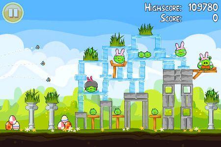 Angry Birds Seasons: ecco l'aggiornamento dedicato alla Pasqua