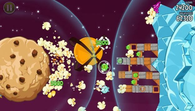 Angry Birds Space, aggiornamento con nuovi livelli e l'Orange Bird