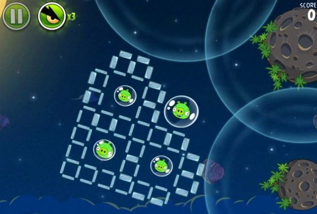 angry birds space casual game