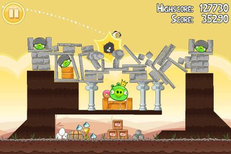 Angry Birds presto anche su Windows Phone 7 e Bada