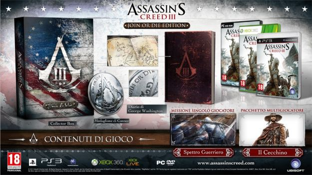 assassin s creed 3 join or die edition