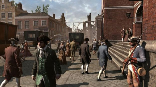 Assassin's Creed 3, gameplay: Ubisoft descrive il podere